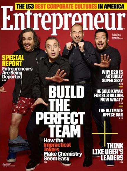 Entrepreneur Cover - 3/1/2017