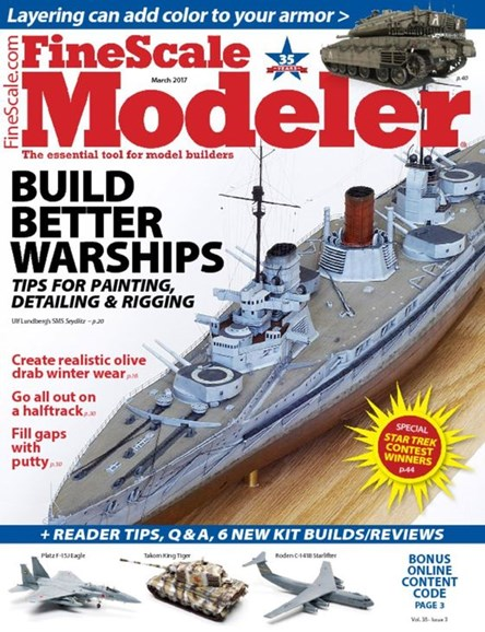 Finescale Modeler Cover - 3/1/2017