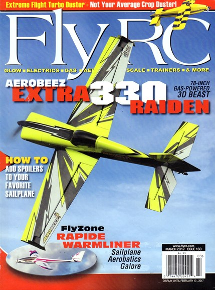 Fly RC Cover - 3/1/2017