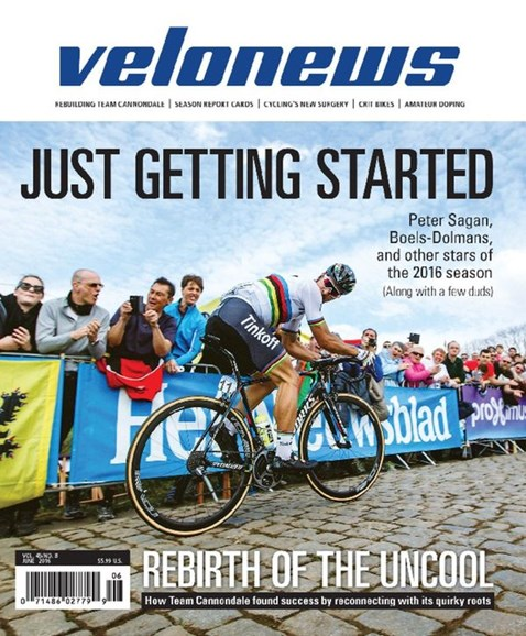 VeloNews Cover - 6/1/2016