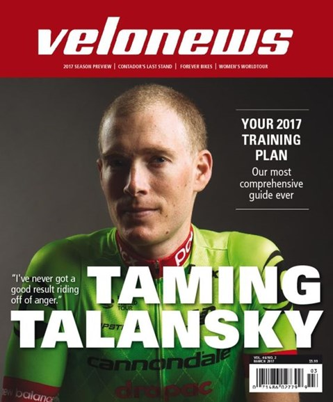 VeloNews Cover - 3/1/2017