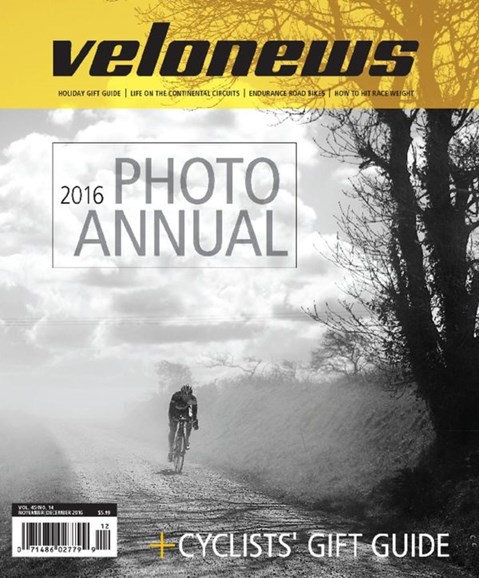 VeloNews Cover - 11/1/2016