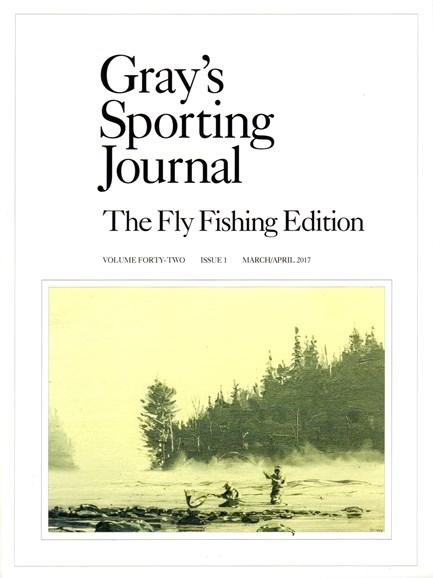 Gray's Sporting Journal Cover - 3/1/2017