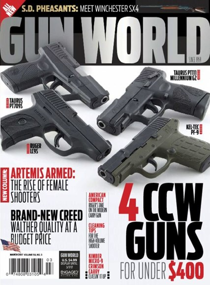Gun World Cover - 3/1/2017