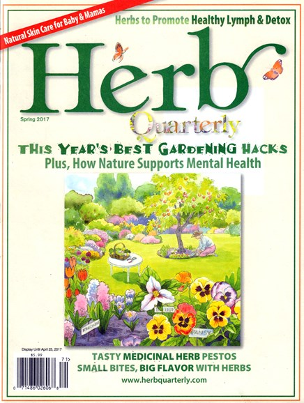 Herb Quarterly Cover - 3/1/2017