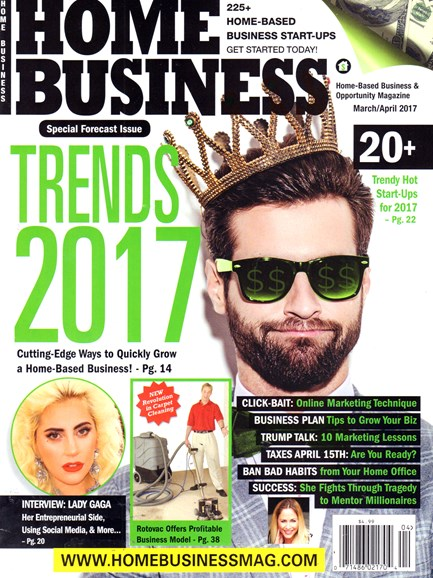 Home Business Magazine Cover - 3/1/2017