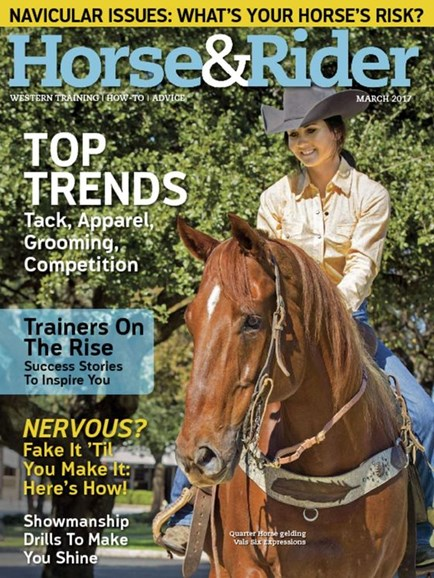 Horse & Rider Cover - 3/1/2017