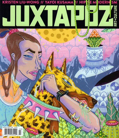 Juxtapoz Cover - 3/1/2017