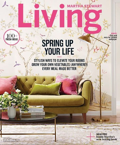 Martha Stewart Living Cover - 3/1/2017