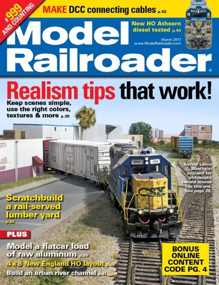 Model Railroader Cover - 3/1/2017