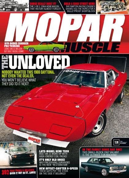 Mopar Muscle Cover - 3/1/2017