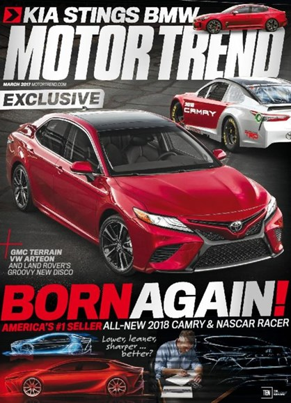 Motor Trend Cover - 3/1/2017