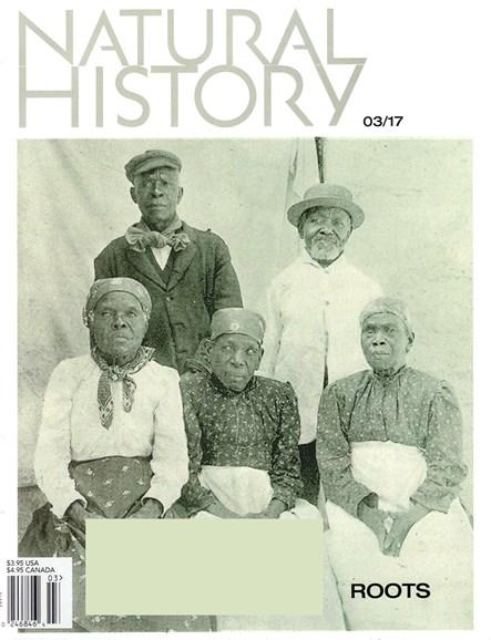 Natural History Cover - 3/1/2017