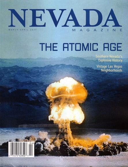 Nevada Magazine Cover - 3/1/2017