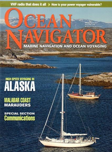 Ocean Navigator Cover - 3/1/2017