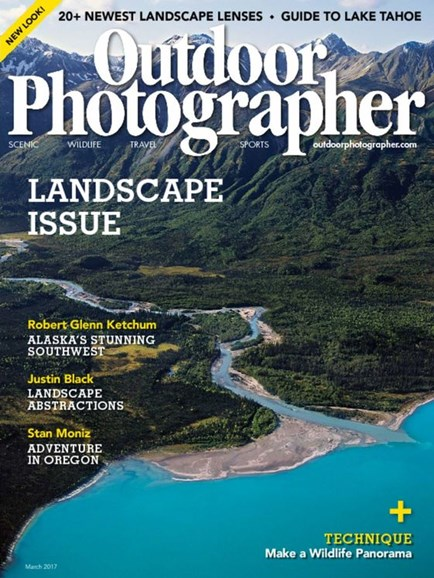 Outdoor Photographer Cover - 3/1/2017