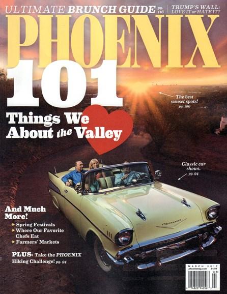 Phoenix Magazine Cover - 3/1/2017