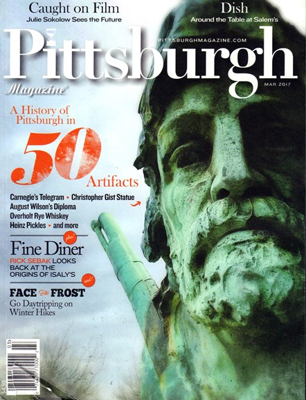 Pittsburgh Magazine Cover - 3/1/2017