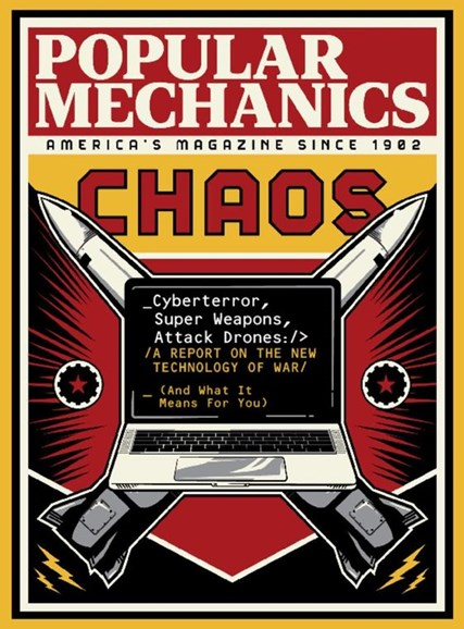Popular Mechanics Cover - 3/1/2017
