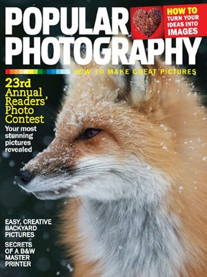 Popular Photography Magazine | 3/1/2017 Cover