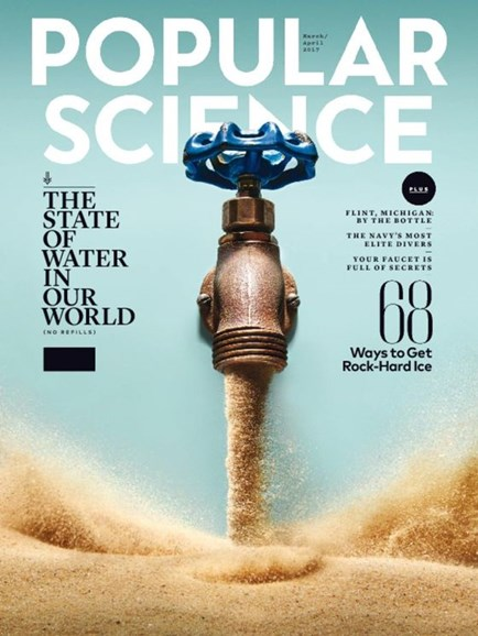 Popular Science Cover - 3/1/2017