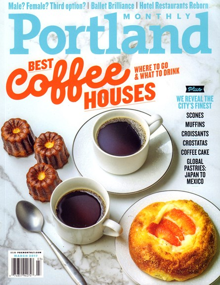 Portland Monthly Cover - 3/1/2017