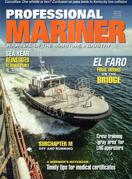 Professional Mariner Cover - 3/1/2017