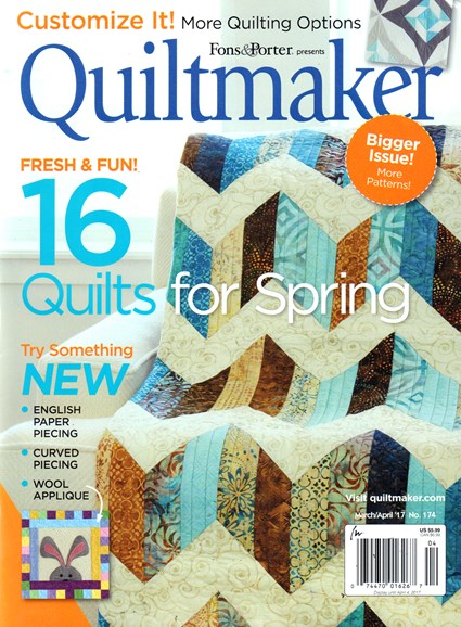 Quiltmaker Cover - 3/1/2017