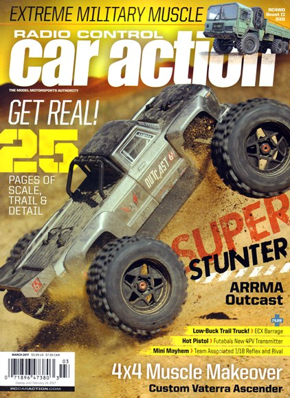 Radio Control Car Action Cover - 3/1/2017