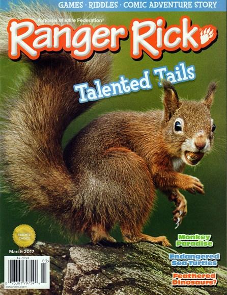 Ranger Rick Cover - 3/1/2017