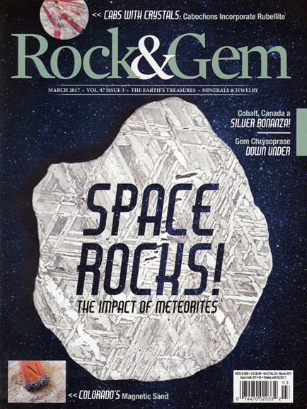 Rock & Gem Cover - 3/1/2017