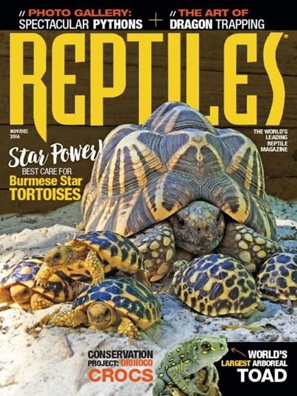 Reptiles Cover - 11/1/2016