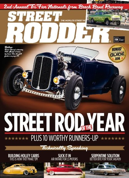 Street Rodder Cover - 3/1/2017