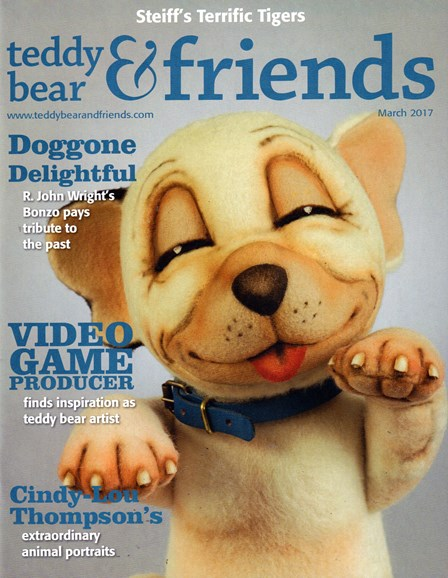 Teddy Bear Times & Friends Cover - 3/1/2017