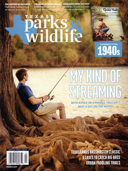 Texas Parks & Wildlife Cover - 3/1/2017