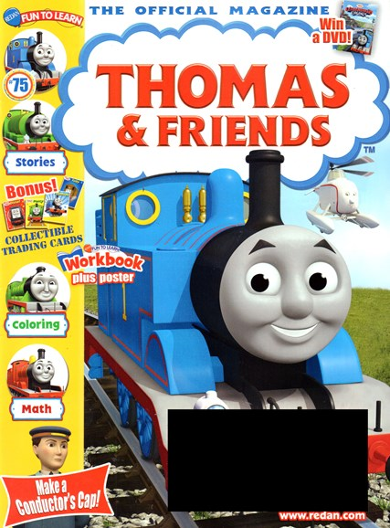 Thomas & Friends Cover - 3/1/2017