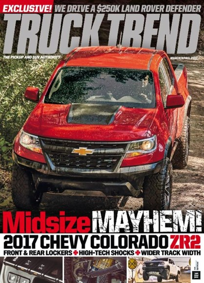 Truck Trend Cover - 3/1/2017
