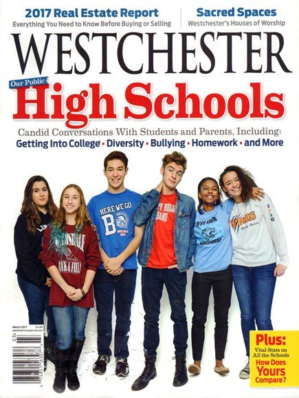 Westchester Magazine Cover - 3/1/2017