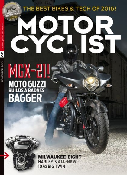 Motorcyclist Cover - 11/1/2016