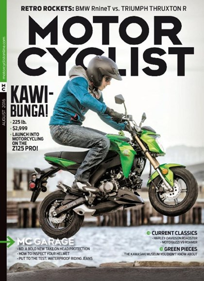 Motorcyclist Cover - 8/1/2016