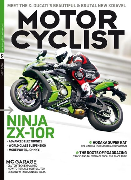 Motorcyclist Cover - 5/1/2016