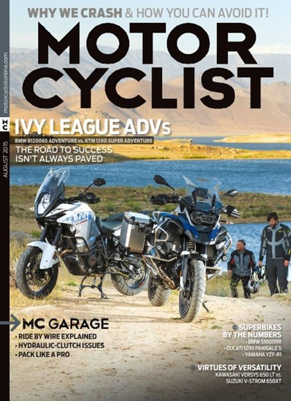 Motorcyclist Cover - 8/1/2015