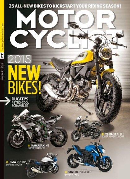 Motorcyclist Cover - 1/1/2015