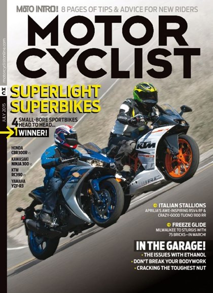 Motorcyclist Cover - 7/1/2015