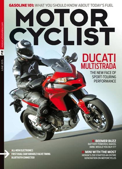Motorcyclist Cover - 6/1/2015