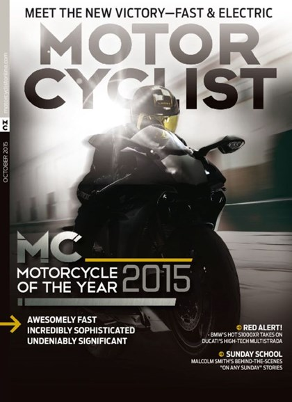 Motorcyclist Cover - 10/1/2015