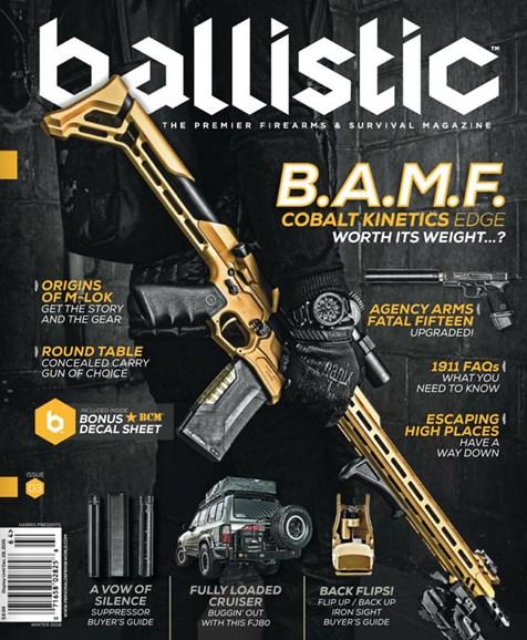 Ballistic Cover - 12/1/2016