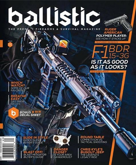 Ballistic Cover - 6/1/2016