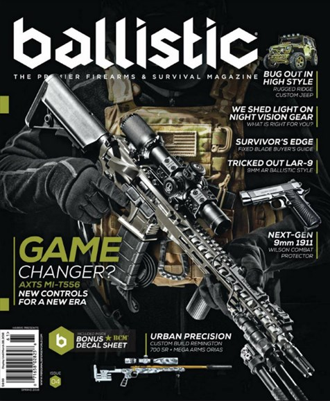 Ballistic Cover - 3/1/2016