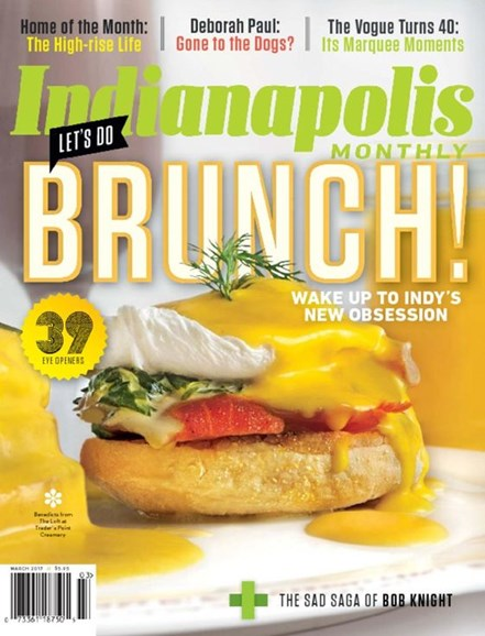 Indianapolis Monthly Cover - 3/1/2017